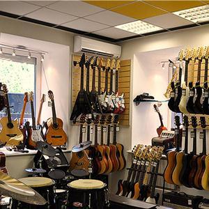 Музыкальные магазины Кобринского